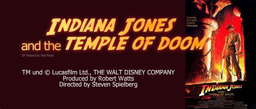 Episode 5 - INDIANA JONES AND THE TEMPLE OF DOOM (1984)